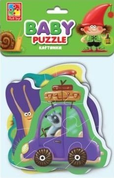 Мягкие пазлы'Baby puzzle'Картинки