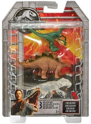 Mattel Jurassic World FPN72 Мини-динозавры - упаковка из 3-х