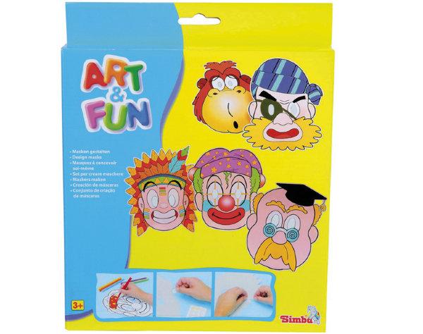 трафарет раскраска Art Fun