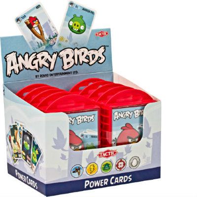 Tactic Games Игра с карточками Angry Birds