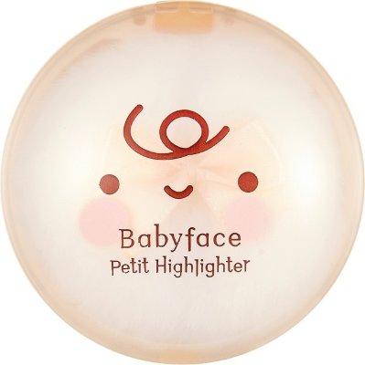 Сухой хайлайтер для стробинга, золотой сатин Babyface Petit Highlighter 02 Gold Satin