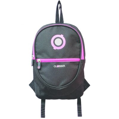 524-132 Рюкзак Globber для самокатов Junior Black/Neon Pink