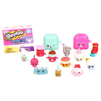 Moose Shopkins 12штук в блистере