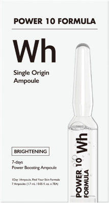 Набор выравнивающих тон сывороток для лица Power10 Formula WH Single Origin Ampoule