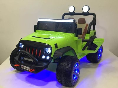 Электромобиль RiverToys Jeep A004AA-GREEN