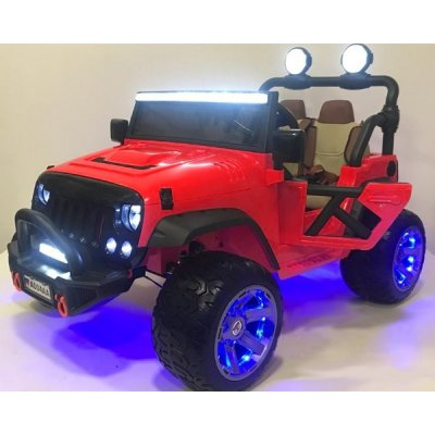 Электромобиль RiverToys Jeep A004AA-RED