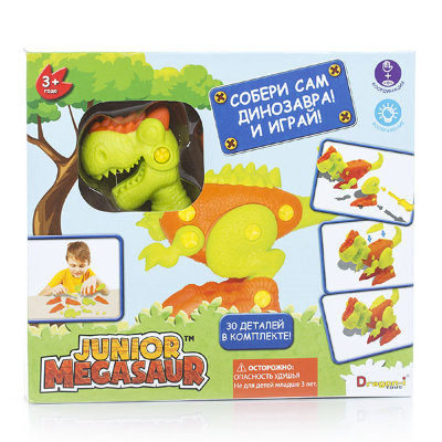 Dragon-I Игрушка Junior Megasaur Собери динозавра