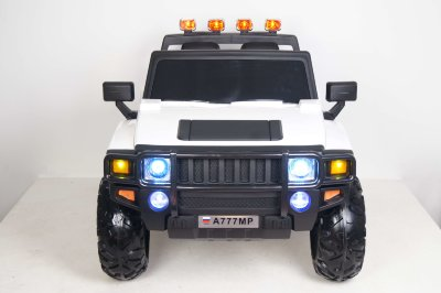 Электромобиль RiverToys Hummer A777MP-WHITE