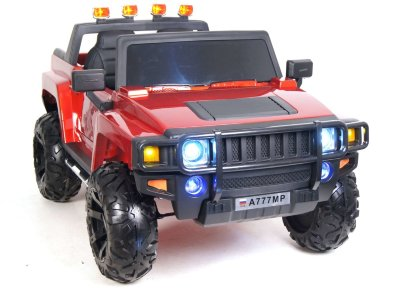 Электромобиль RiverToys Hummer A777MP-CHERRY-GLANEC