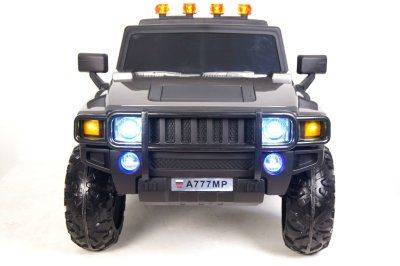 Электромобиль RiverToys Hummer A777MP-SILVER-GLANEC