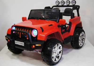 Электромобиль RiverToys Jeep M777MM-RED-4*4