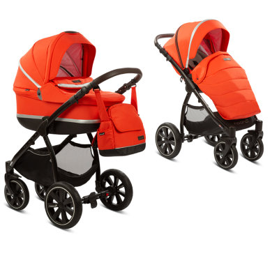 Коляска 2 в 1 Noordi Sole Sport NEW(Orange Red 825)