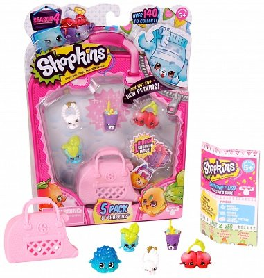 Moose Shopkins 5 шт в блистере