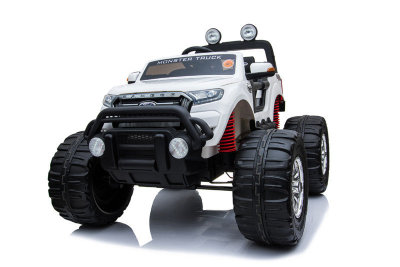 Электромобиль RiverToys Ford Ranger Monster Truck DK-MT550-WHITE