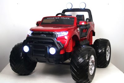 Электромобиль RiverToys Ford Ranger Monster Truck  DK-MT550-CHERRY-GLANEC