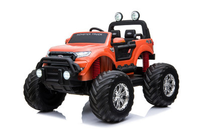 Электромобиль RiverToys Ford Ranger Monster Truck  DK-MT550-ORANGE-GLANEC