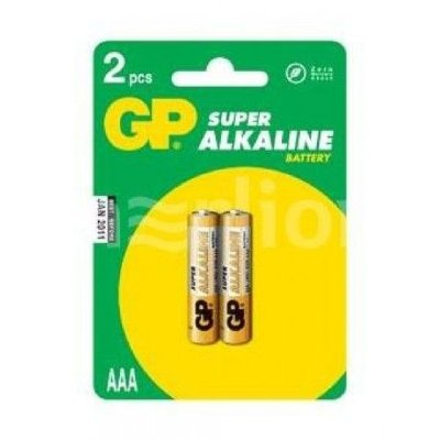 GP Батарейка LR-03 (ААА) GP Super Alkaline, блистер