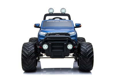 Электромобиль RiverToys Ford Ranger Monster Truck  DK-MT550-BLUE-GLANEC